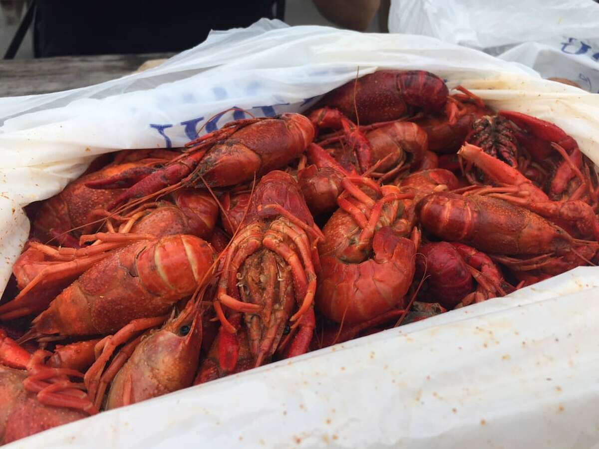 Boil House specializes in authentic Louisina crawfish.