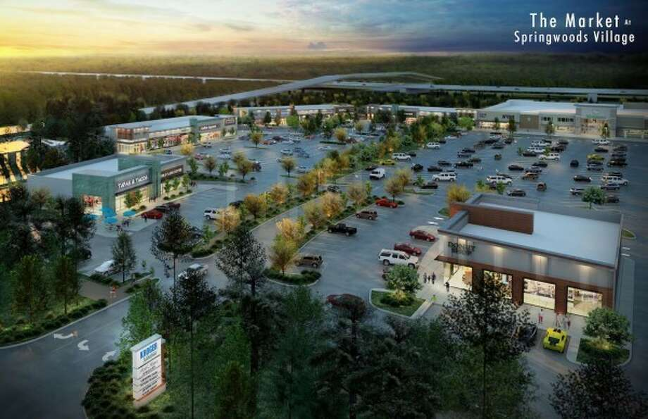 The Market at Springwoods Village, located at the southeast corner of        Holzwarth Road and the Grand Parkway, is expected to open this fall. Photo: CDC Houston