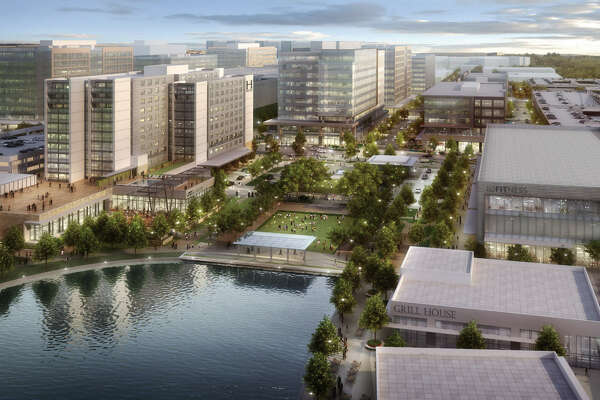 CityPlace is a 60-acre mixed-use development that will be the hub for Springwoods Village. It will include luxury apartments, office buildings, a full-service hotel and an array of restaurants and retail.