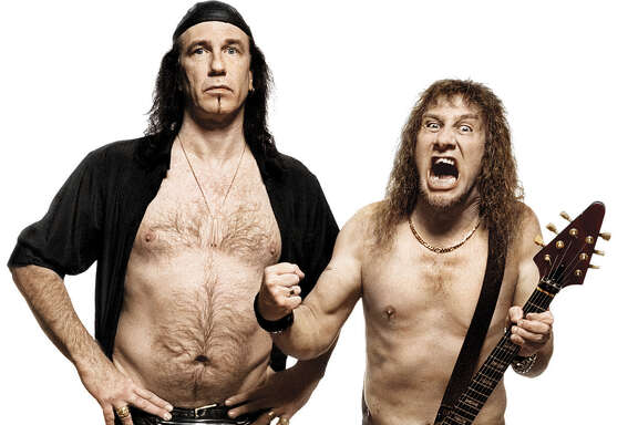 "Robb Reiner and Steve ""Lips"" Kudlow of the rock band Anvil Credit: Ross Halfin"
