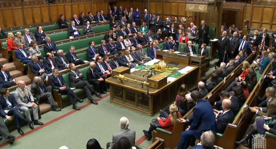 MP's in House of Commons, London after a major security alert at the Palace of Westminster in London Wednesday March 22, 2017. Photo: Associated Press