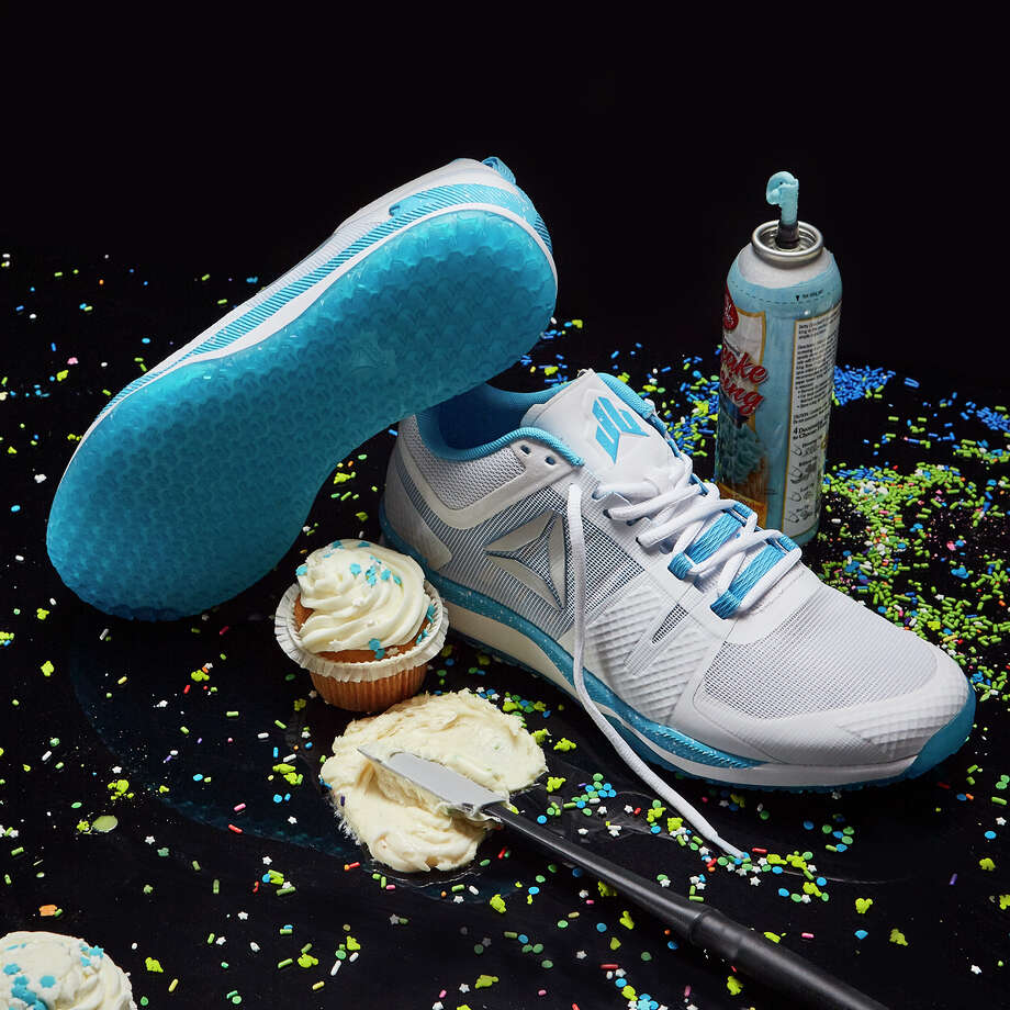 """Reebok released a new released a new version of the Texans' J.J. Watt's signature shoe on his birthday Wednesday. The shoe is called the JJ I """"Icing on the Cake."""" Photo: Reebok"""