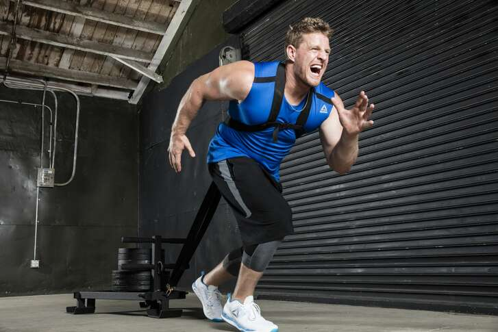 "Reebok released a new released a new version of the Texans' J.J. Watt's signature shoe on his birthday Wednesday. The shoe is called the JJ I ""Icing on the Cake."""