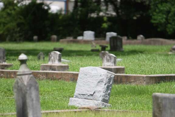 Humble Cemetery, located on S. Houston and Isaacks Rd., is believed to be the town's oldest cemetery dating back to 1867. It's designated as a Texas Historical Marker in the Humble/Kingwood area. Photo by Thomas Nguyen/For the Chronicle.