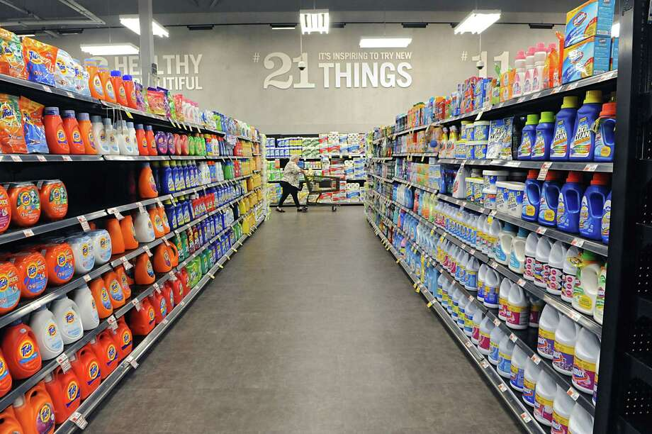 Detergent aisle in the Capital Region's first Market 32, the rebranded Price Chopper on Wednesday, June 17, 2015 in Wilton, N.Y. The store is still technically Price Chopper but is in the process of switching its name.  (Lori Van Buren / Times Union) Photo: Lori Van Buren / 00032290A