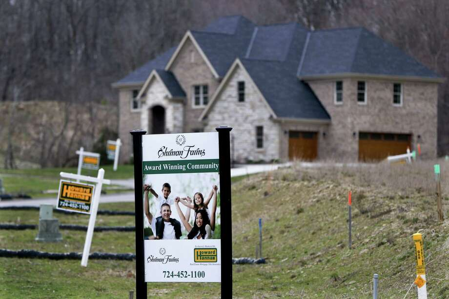 Sales of existing homes fell 3.7 percent last month to a seasonally adjusted annual rate of 5.48 million, the National Association of Realtors said Wednesday. The decline may represent just a temporary slump after the sharp sales increase in January. Photo: Keith Srakocic /Associated Press / Copyright 2017 The Associated Press. All rights reserved.