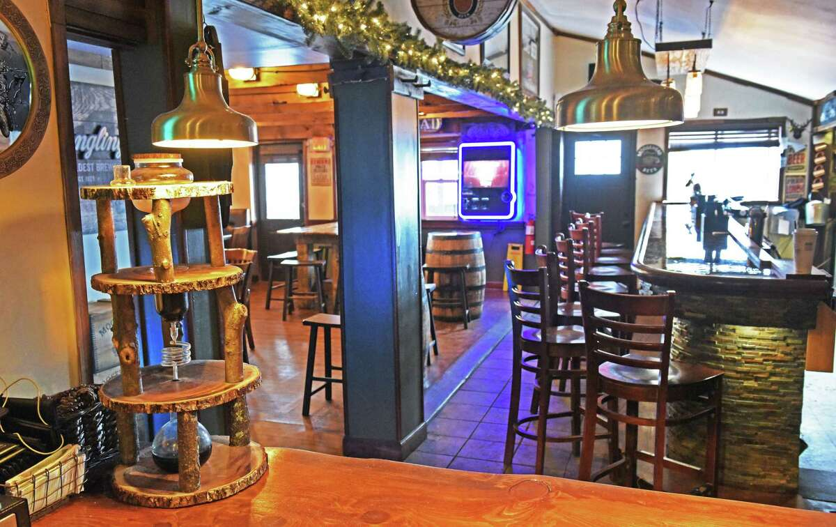 Interior of the Tipsy Moose on Old Loudon Road Tuesday Feb 21, 2017 in Colonie, NY. (John Carl D'Annibale / Times Union)