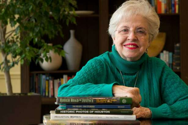 Betty Trapp Chapman will speak Saturday, March 25, at the West University Community Center as a part of the Delphian's Distinguished Speaker Series.