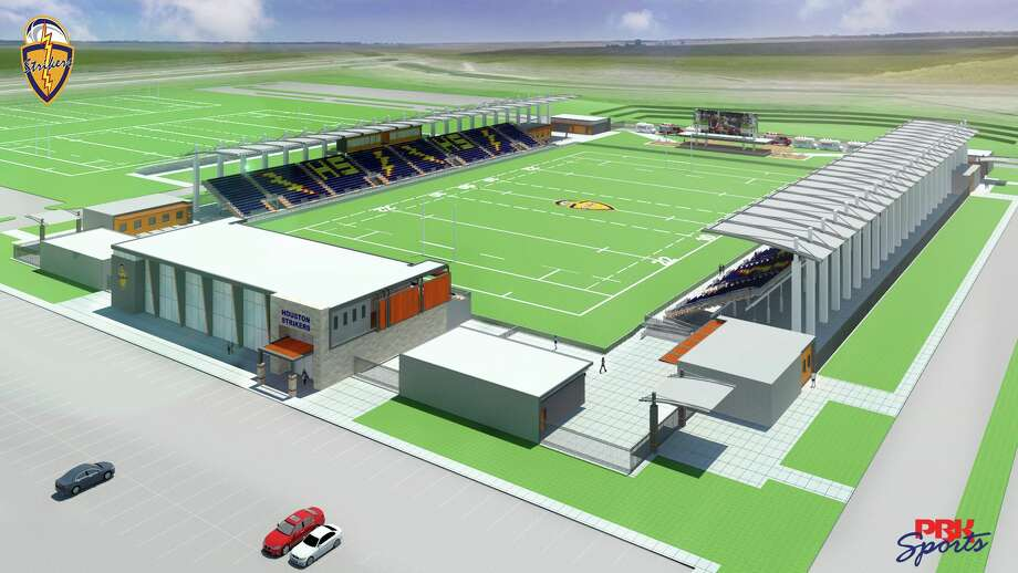 One of the most popular sports in Houston could soon be getting a stadium all of its own if current plans come to fruition. A group representing the Houston Strikers of the upcoming Major League Ruby league is finalizing plans to develop a plot of land adjacent to the Houston Sports Park along TX-288 and south of Mowery Road for a $10 million rugby complex.  Photo: Houston Strikers On Facebook
