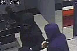 Surveillance video captured images of the suspects.