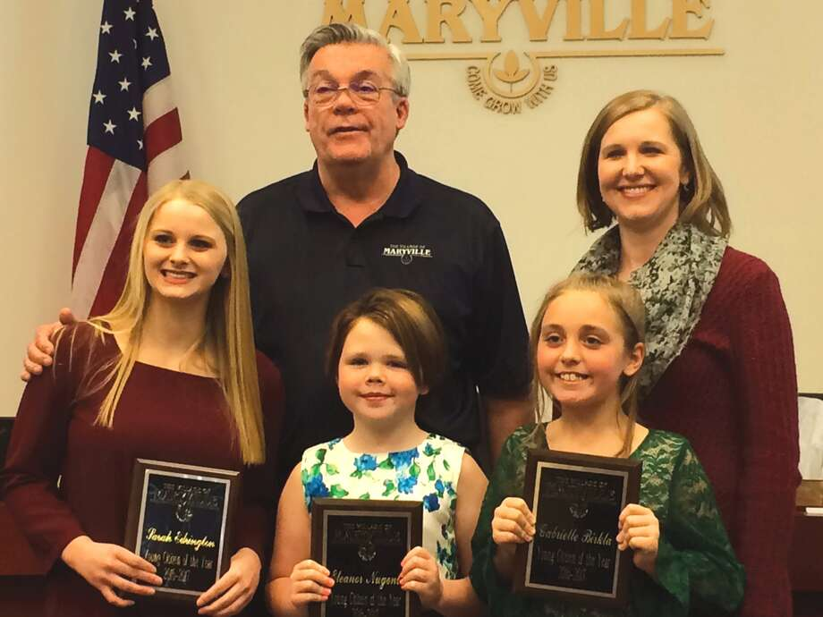 3 earn maryville young citizens award the edwardsville intelligencer