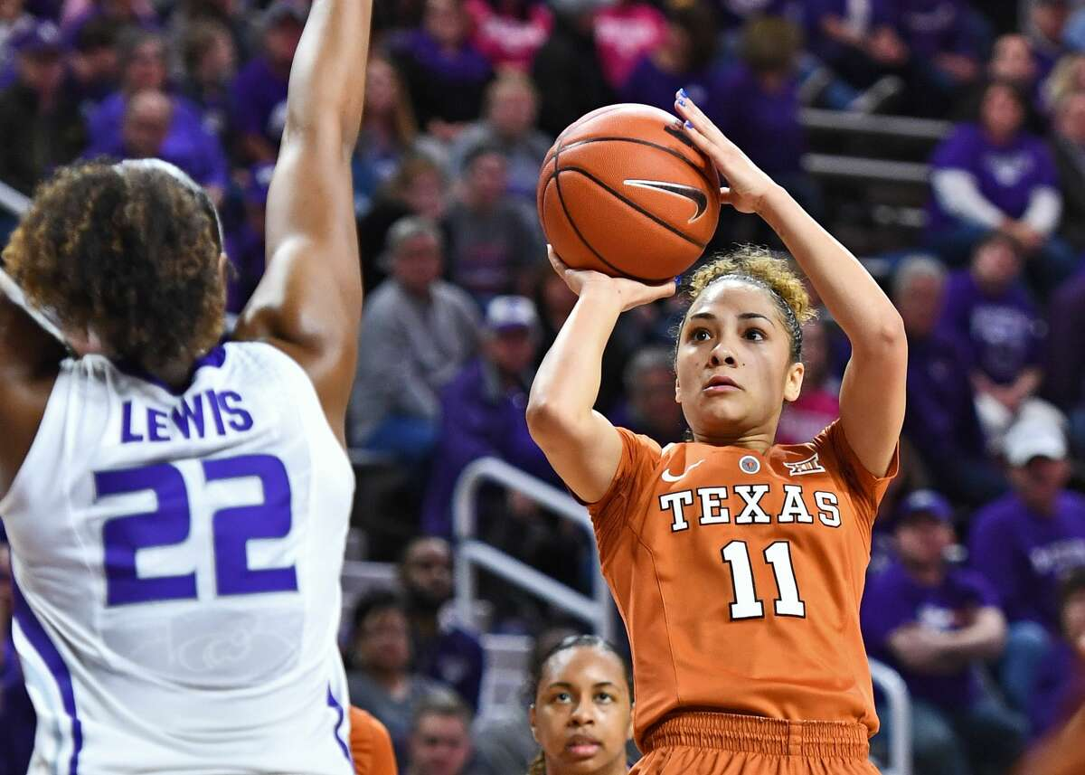 HOUSTON PLAYERS IN THE WOMEN'S SWEET 16 Brooke McCarty, Texas McCarty, the Big 12 Player of the year, hails from Clear Springs. In the regular season, the junior averaged 14.3 points and 3.5 assists per game.