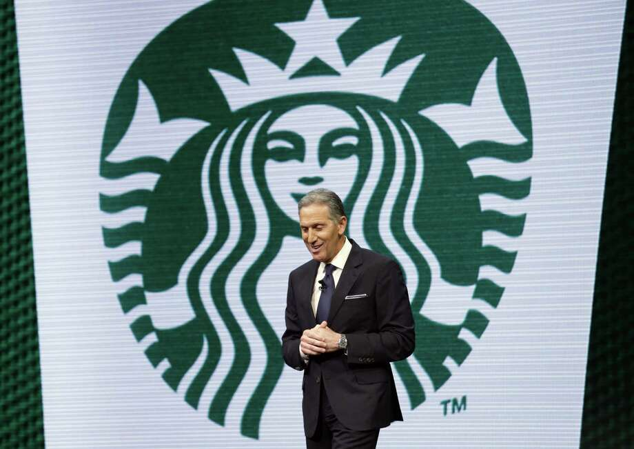 """Starbucks Corp. will hire 25,000 veterans and their spouses by 2025, it said Wednesday. """"We are still in the early stages of growth as we strive to meet our highest growth aspirations for the company,"""" says CEO Howard Schultz. Photo: Elaine Thompson /Associated Press / AP"""