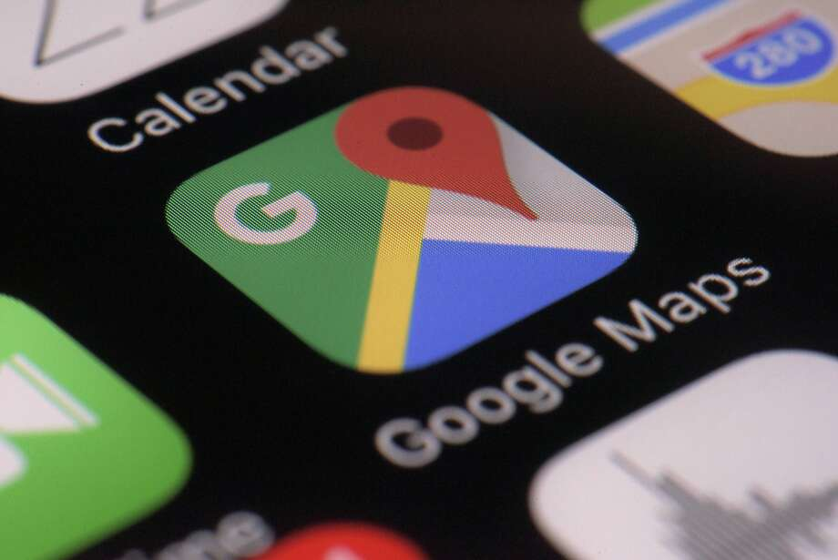 Google Maps will allow users to share their location with selected people for a specified length of time. Photo: Patrick Sison, Associated Press