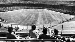 1978 San Francisco Giants opening day  Fans in the upper deck enjoy the sunny day Photo ran 04/8/1978, P. 1