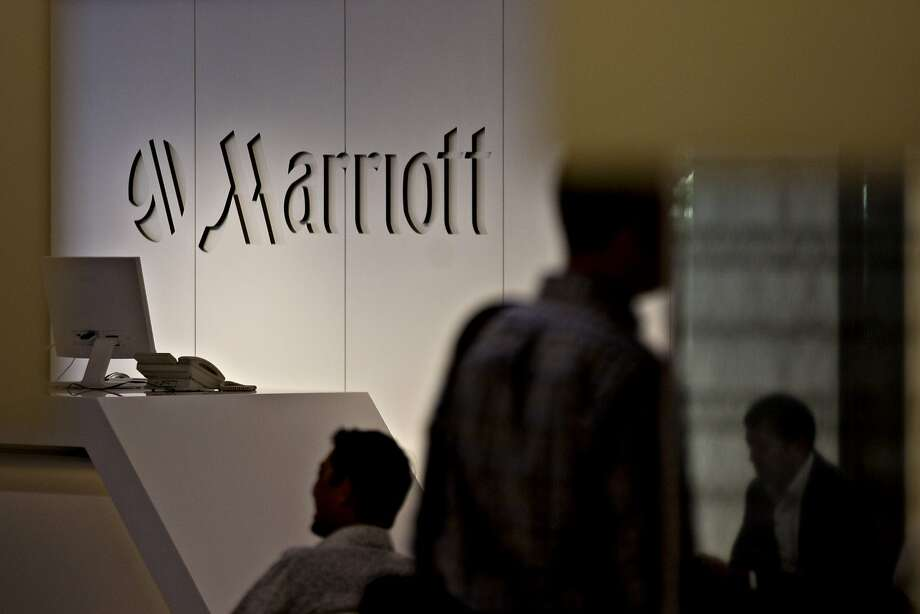 Marriott International's headquarters in Bethesda, Maryland, is likely to be a busy place as the hotel giant merges Marriott Rewards, Starwood Preferred Guest and Ritz-Carlton Rewards this month. Photo: Andrew Harrer, Bloomberg