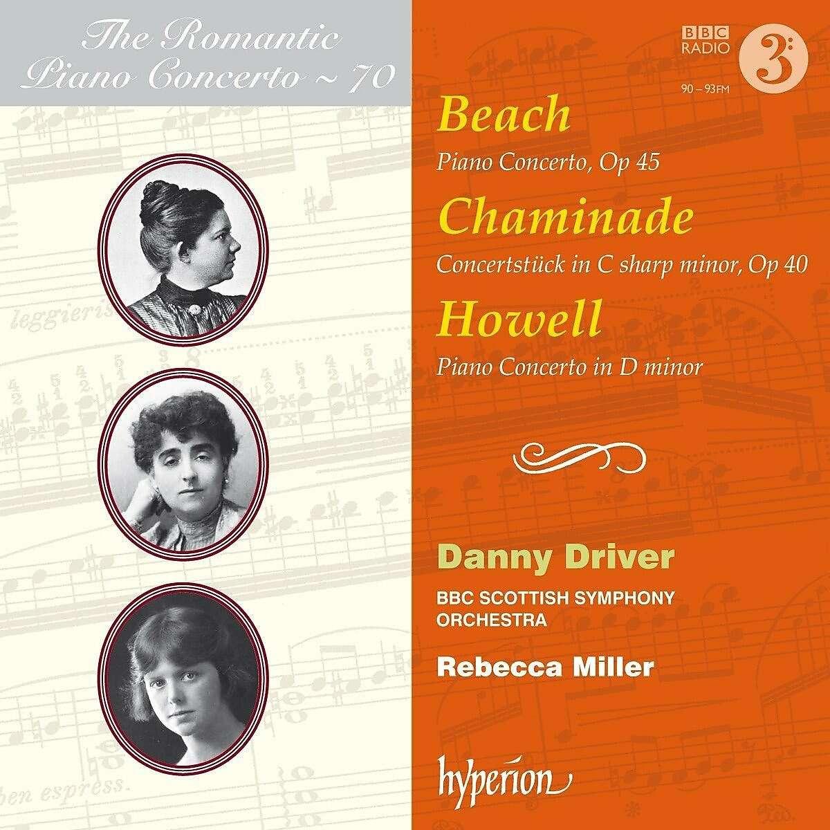 Beach, Chaminade, Howell: Piano Concertos