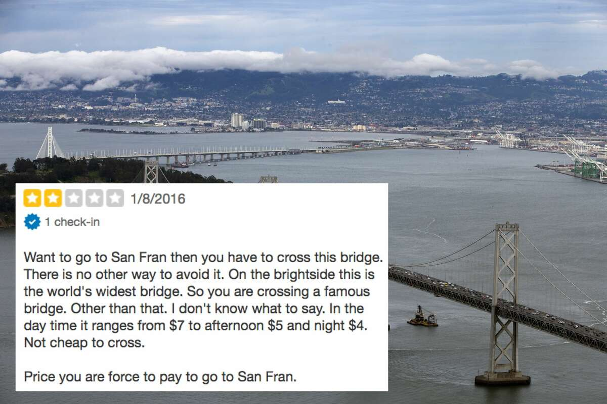 Yes, bridges do cost money, whether or not they take you to