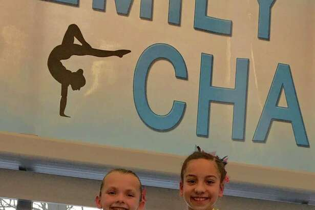 Taking first All Around for their age groups at the Emily Fedorko Challenge were Ava Licata of New Canaan and Darien YMCA gymnastic's teammate Tanner Generoso.