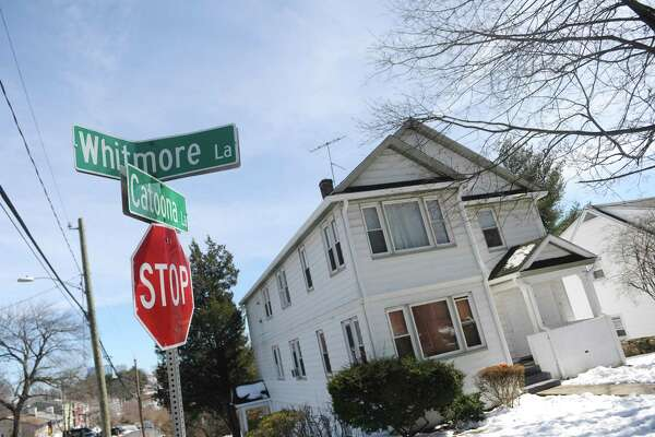 A view of Whitmore Lane, where Airbnb hosts have recently clashed with neighbors, in Stamford, Conn. Monday, March 20, 2017.