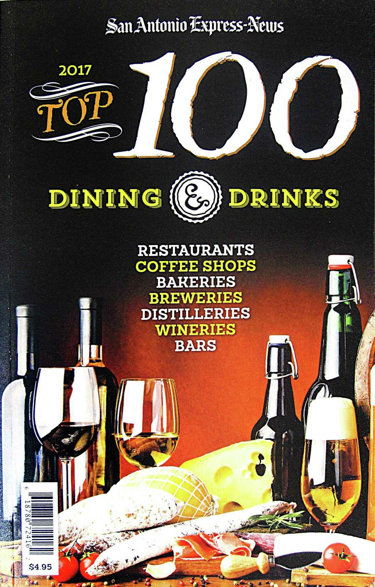 The 2017 Top 100 Dining & Drinks guide from the San Antonio Express-News.