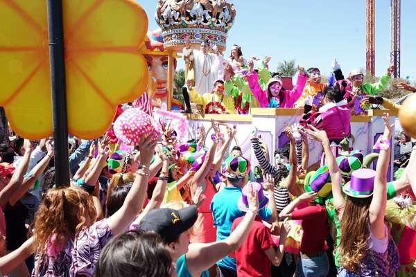 Mardi Gras Festival will debut March 24, 2017 at Six Flags Fiesta Texas.