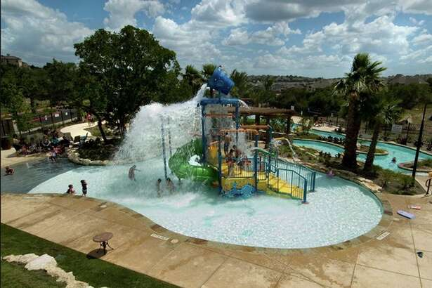 1.Cibolo Canyons The Rec Center includes an aquatic center comparable to a luxury resort...with a lazy river, kid's pool, and large lap pool! Looking for a new home, let Keller Williams San Antonio help you! http://www.kwsanantonio.com/