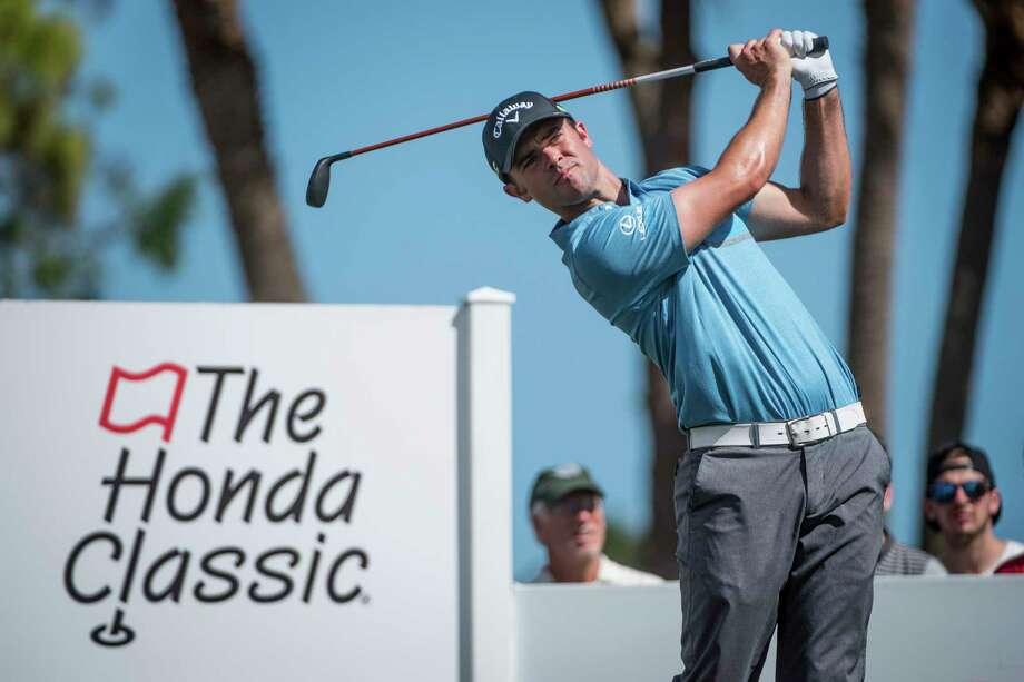 FILE - In this Feb. 24, 2017, file photo, golfer Wesley Bryan tees off on the fourth hole during the Honda Classic golf tournament in Palm Beach Gardens, Fla. For the first time, the winner of the Puerto Rico Open could earn a spot in the Masters. But only if that winner is Wesley Bryan, and even that might not be enough .(Michael Ares/The Palm Beach Post via AP, File) Photo: Michael Ares, MBO / © 2017 The Palm Beach Post