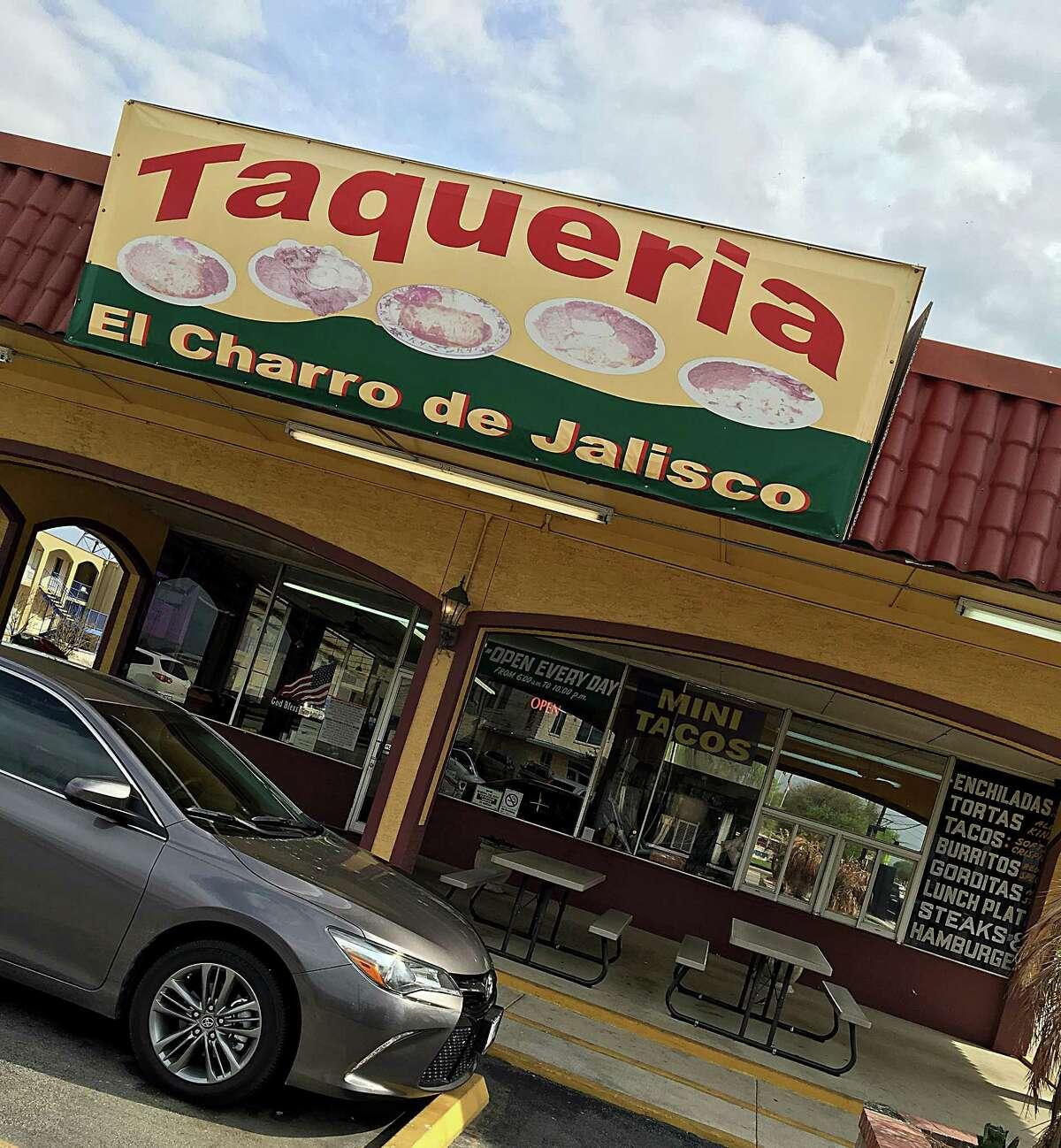 Taquería El Charro De Jalisco on Valley Hi Drive.
