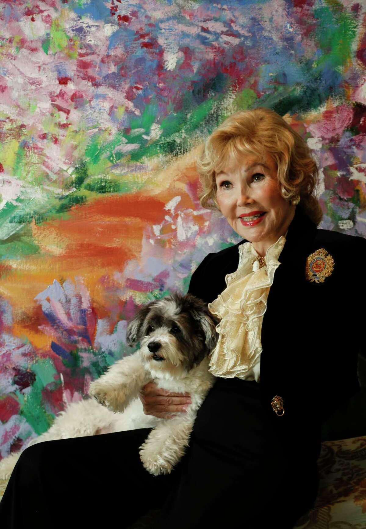 Joanne Herring photographed in her home, Monday, March 13, 2017, in Houston. ( Karen Warren / Houston Chronicle )