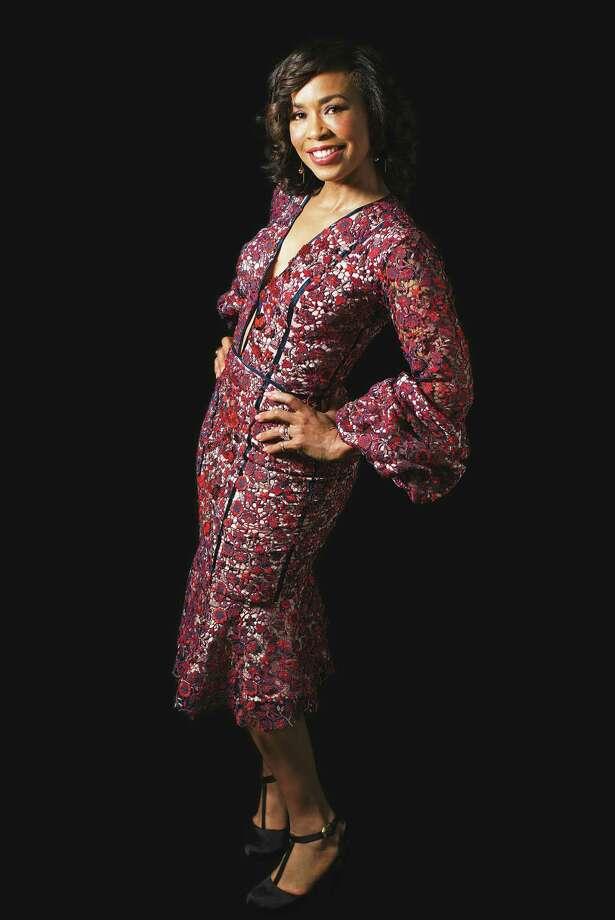 Gina Gaston wears Johanna Ortiz. Photo: Marie D. De Jeséºs, Staff / © 2017 Houston Chronicle