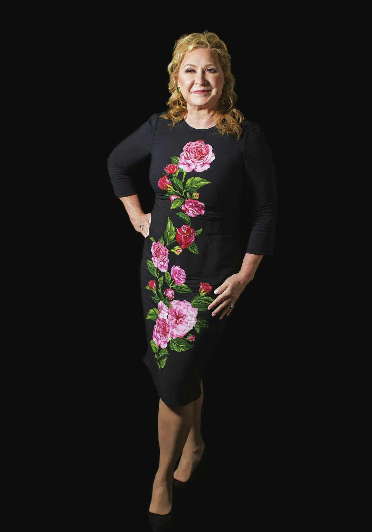 Carol Linn wears Dolce & Gabbana. Wednesday, Jan. 25, 2017, in Houston. ( Marie D. De Jes?s / Houston Chronicle )