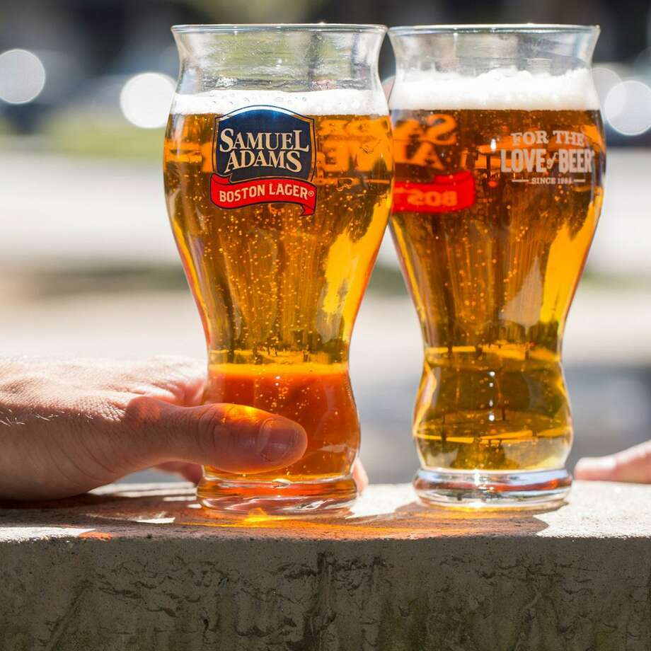 Samuel Adams' perfect pint glass features a ring of laser-etched dots in the bottom of the glass that act as nucleation points for bubbles. These additional bubbles preserve a layer of foam on top of the beer and enhance the aroma. Photo: Courtesy Photo
