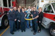 The Kent Volunteer Fire Department has a new tool to help save lives - the LUCAS Chest Compression System, which delivers uninterrupted automated chest compressions. The new device was purchased with proceeds from New Milford Hospitals Daves Day Golf Classic, which took place at Bulls Bridge Golf Club last October.
