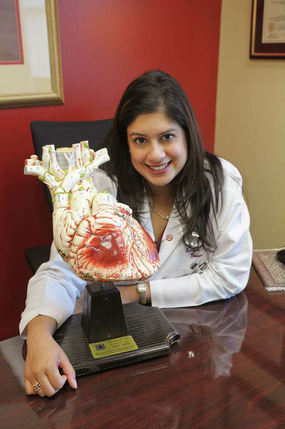 Dr. Sulagna Mookherjee, cardiologist at Albany Medical Center