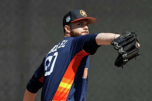 Astros ace Dallas Keuchel has allowed two earned runs and nine hits in 12 innings this spring.