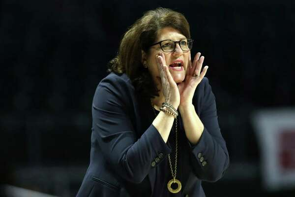 Quinnipiac head coach Tricia Fabbri has guided the Bobcats into the Sweet 16.