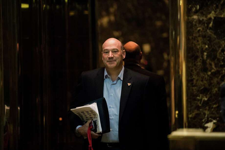 FILE -- Gary Cohn, then the president of Goldman Sachs, in the Trump Tower lobby on Fifth Avenue in New York, Jan. 2, 2017. Government ethics officials have mandated that Cohn, a White House economic adviser, to sell a significant position in the world's largest bank, the Industrial and Commercial Bank of China. (Hilary Swift/The New York Times) Photo: HILARY SWIFT, STR / NYTNS