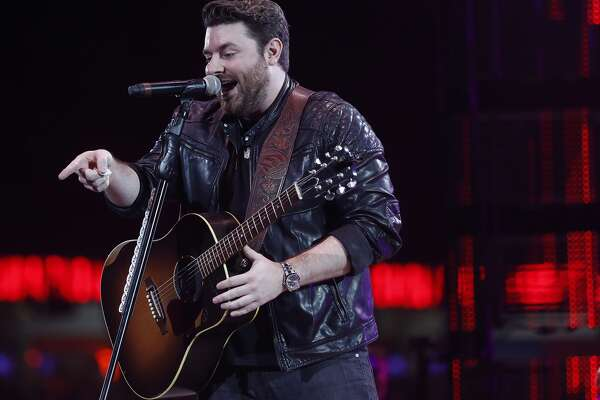 Chris Young performs in concert at the Houston Livestock Show and Rodeo at NRG Stadium, Wednesday, March 22, 2017, in Houston. ( Karen Warren / Houston Chronicle )