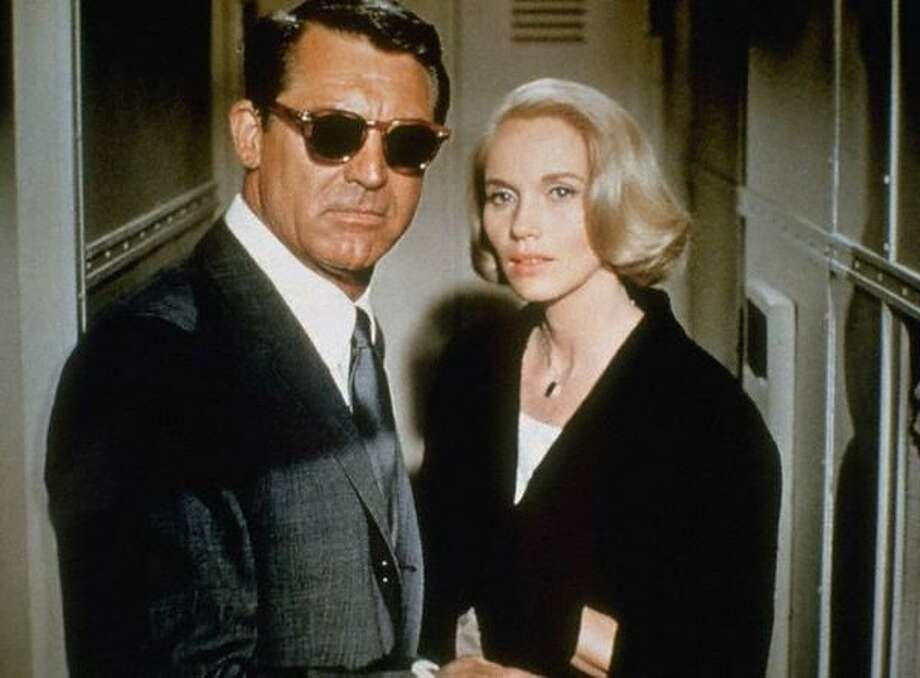 """Cary Grant and Eva Marie Saint in """"North by Northwest."""" Photo: MGM 1959"""