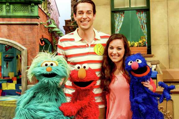 "Zachary Levi, Suki Lopez and the cast from this season of ""Sesame Street."" Many familiar faces are gone.   on HBO"