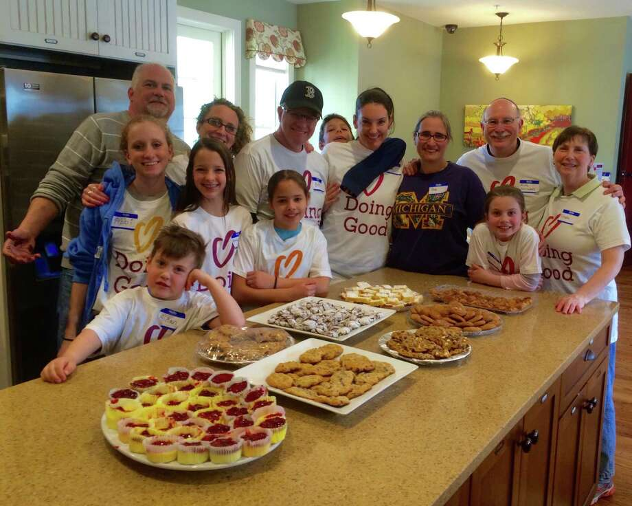 "Last year's Mitzvah Day ""Team Cookie"" volunteered to bake at Ronald McDonald House Charities of the Capital Region. (Submitted photo)"