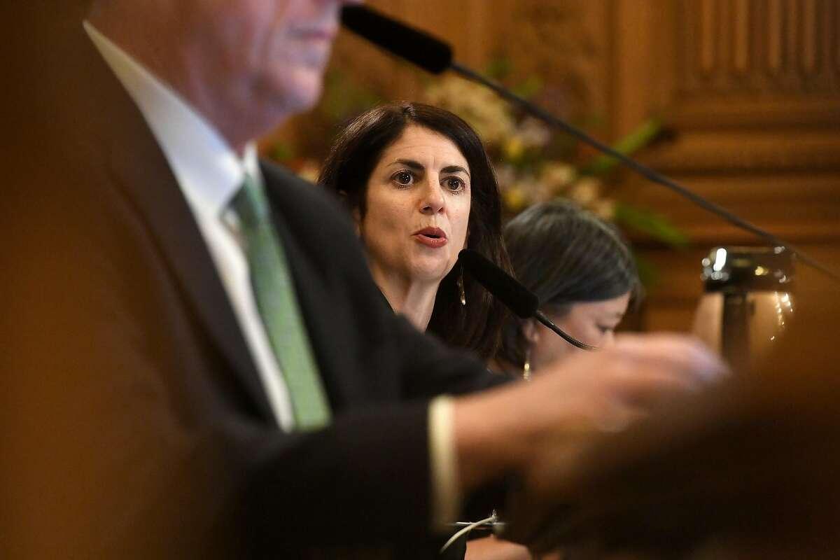 San Francisco Supervisors Hillary Ronen