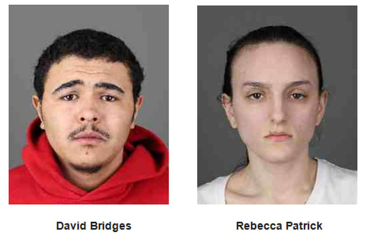 David Bridges, 22, and Rebecca Patrick, 21. (Albany County District Attorney's Office)
