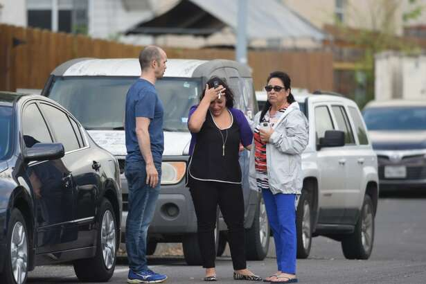 Emergency crews responded to a reported cutting Thursday, March 23, 2017, in the North Side subdivision of Blossom Park, where at least two people are dead, according to police.