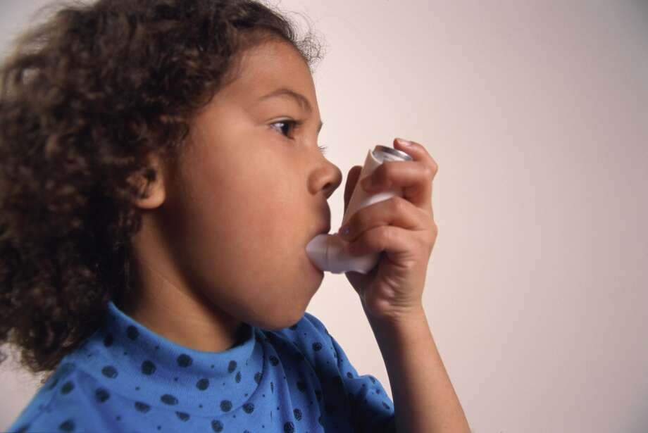 In Houston, 4 percent of white and Asian children had asthma  diagnoses, compared to 13 percent of black and 7 percent of Hispanic  children, Rice researchers found. Photo: Roy Morsch, Getty Images