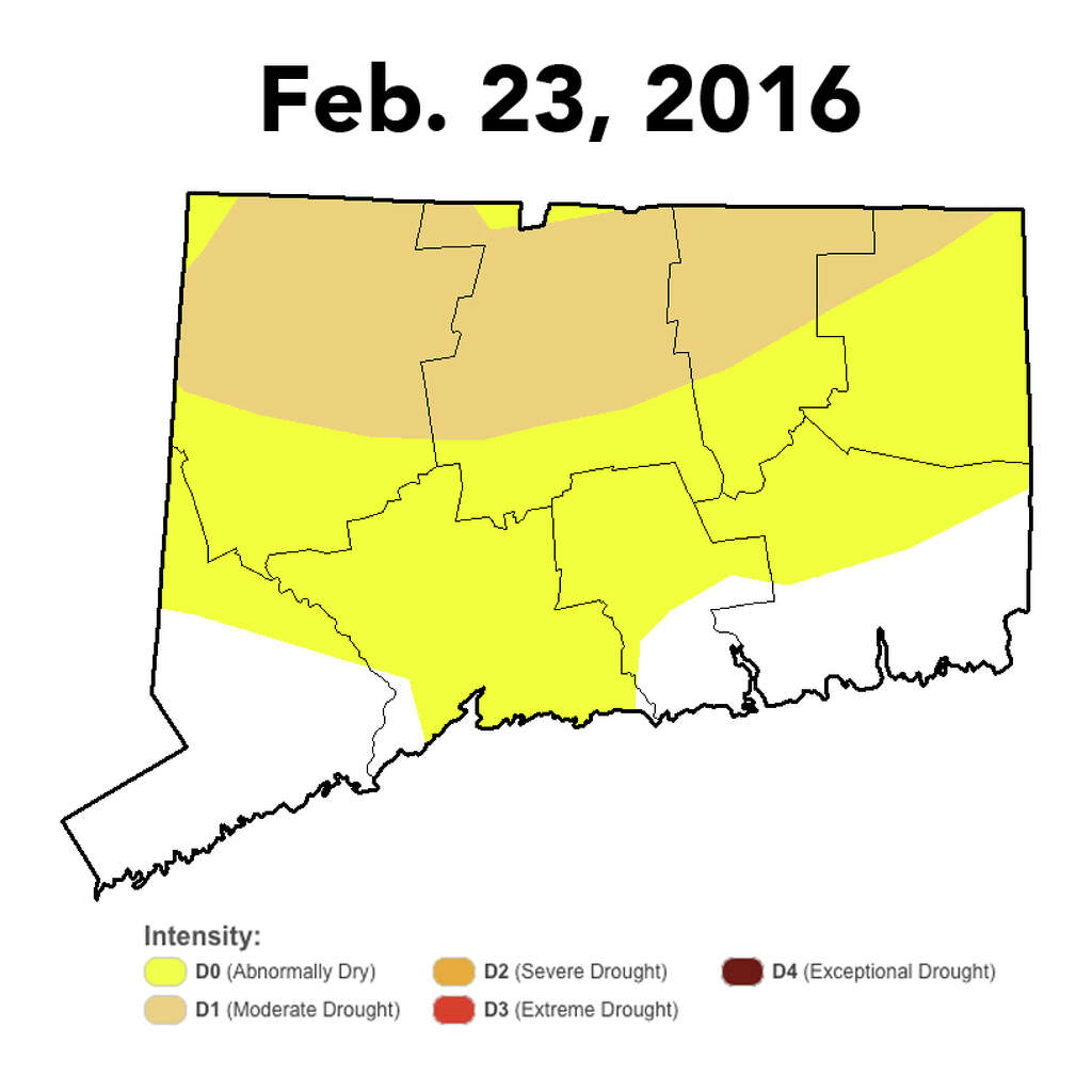 Monthly Drought Intenstiy In Connecticut Photo U S Drought Monitor Contributed Connecticut Post Contributed