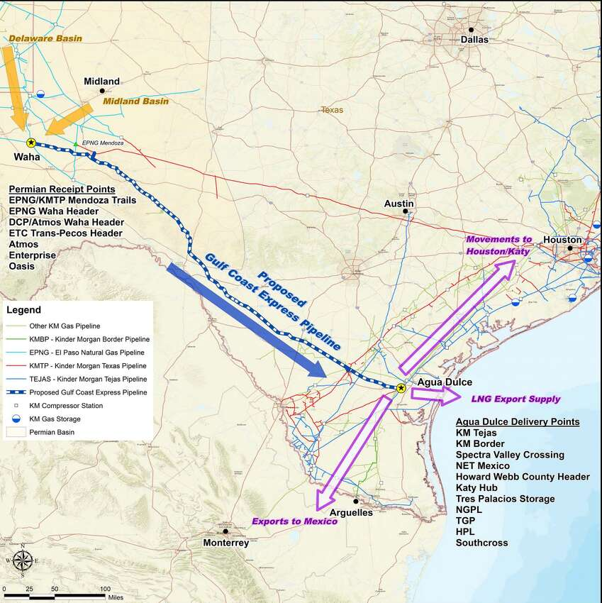 Texas Production Natural Gas