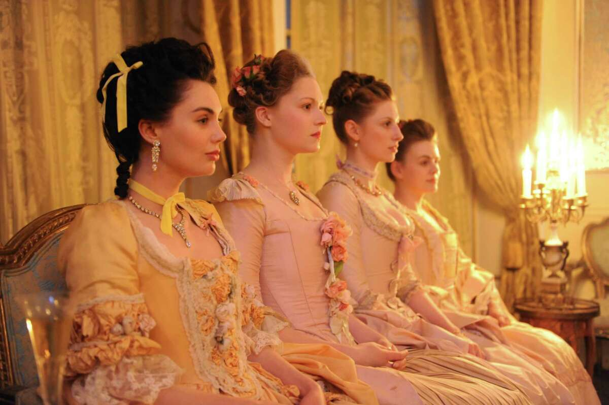 """The beauty of madam Quigley's upper-crust house of sin belies the cold heart of its proprietress in """"Harlots."""""""