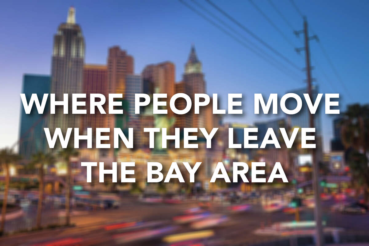 A recent LinkedIn study looked at data on where people move when they leave San Francisco and the Bay Area. Click through to see the most common spots for Bay Area folks to land.